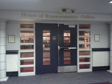 House of Rep Gallery Entrance1