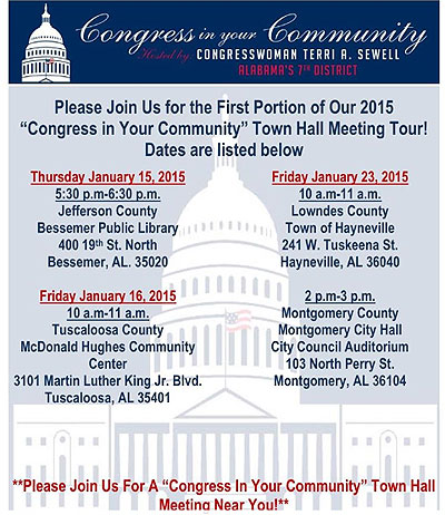 Congress in Community Terri Sewell